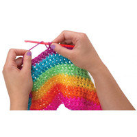 Alex - Crochet A Rainbow Scarf