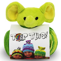 DMC - Top This! Hat Knitting Kit - Elephant