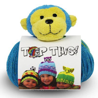 DMC - Top This! Hat Knitting Kit - Monkey