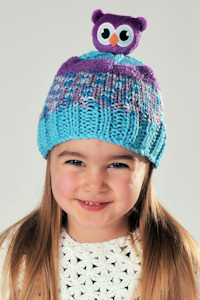 DMC - Top This! Hat Knitting Kit - Owl