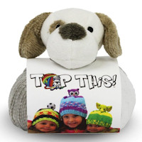 DMC - Top This! Hat Knitting Kit - Puppy