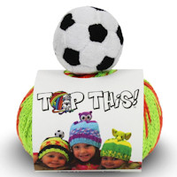 DMC - Top This! Hat Knitting Kit - Football