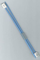 Essentials - Children's 3.75mm Blue Plastic Knitting Pins - 18cm Length - UK Size 9 (One Pair)