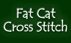 Fat Cat Cross Stitch logo