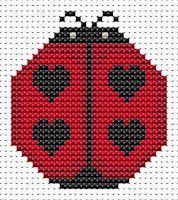 Fat Cat Cross Stitch - Sew Simple - Ladybird