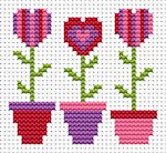 Fat Cat Cross Stitch - Sew Simple - Love Grows