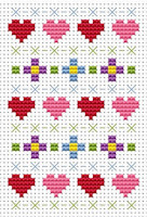 Fat Cat Cross Stitch - Sew Simple - Sampler