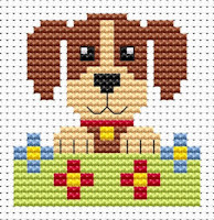 Fat Cat Cross Stitch - Sew Simple - Dog