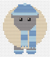 Fat Cat Cross Stitch - Sew Simple - Winter Sheep