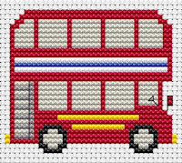 Fat Cat Cross Stitch - Sew Simple - Bus