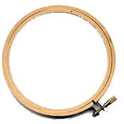 "Wooden Embroidery Hoop - 12.5cm (5"") Diameter"
