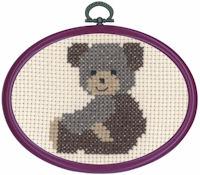 Permin - My First Cross Stitch (Framed) Kit - Bear