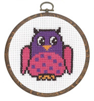 Permin - My First Cross Stitch (Framed) Kit - Owl
