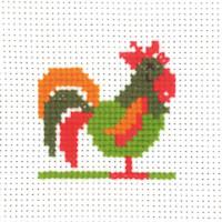 Permin - My First Cross Stitch - Mini Kit - Cockerel