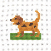 Permin - My First Cross Stitch - Mini Kit - Dog