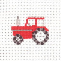 Permin - My First Cross Stitch - Mini Kit - Tractor