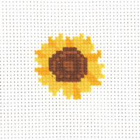 Permin - My First Cross Stitch - Mini Kit - Sunflower