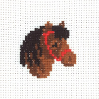 Permin - My First Cross Stitch - Mini Kit - Horse