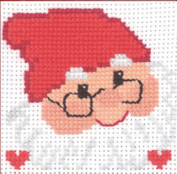 Permin - My First Cross Stitch Kit - Santa