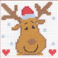 Permin - My First Cross Stitch Kit - Moose