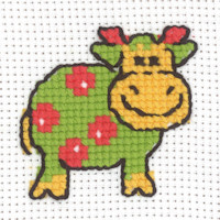 Permin - My First Cross Stitch - Mini Kit - Cow