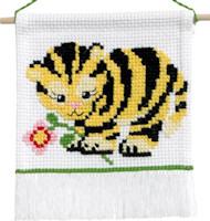 Permin - My First Cross Stitch Kit - Tiger