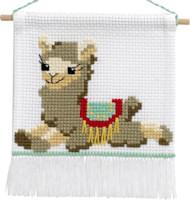 Permin - My First Cross Stitch Kit - Llama