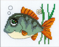 Riolis - Happy Bee Beginners' Cross Stitch - Smiling Fish