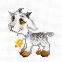 Riolis - Happy Bee Beginners' Cross Stitch - Little Grey Goat
