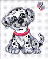 Riolis - Beginners' Cross Stitch - Dalmatian Dog