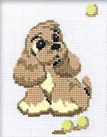Riolis - Beginners' Cross Stitch - Cocker Spaniel